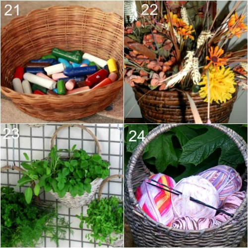 Things To Do With Baskets7