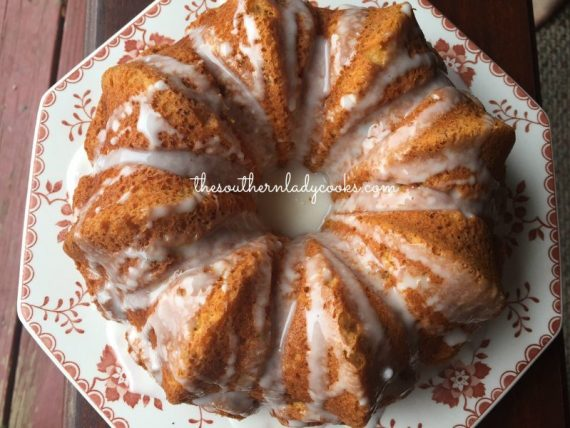 Easy Pumpkin Angel Food Cake The Southern Lady Cooks