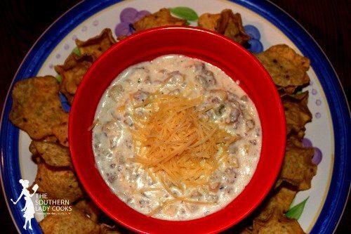 Artichoke and Sausage Dip