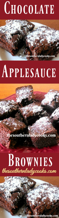the-southern-lady-cooks-chocolate-applesauce-brownies