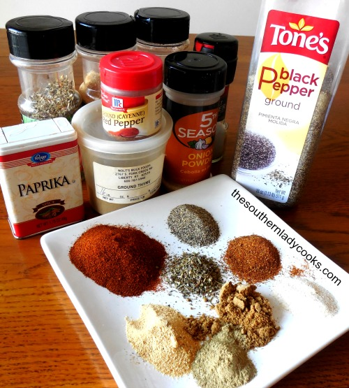 Make Your Own Cajun Seasoning