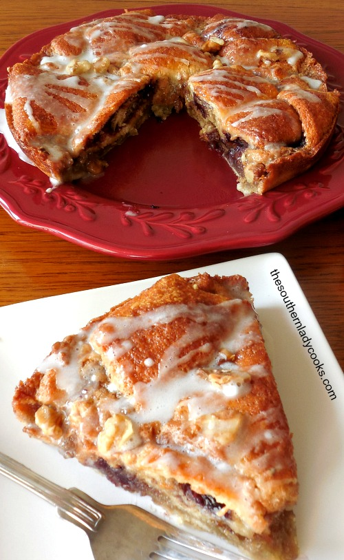Crescent Roll Coffee Cake Recipe The Southern Lady Cooks