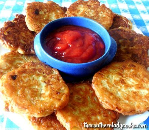 Easy Amish Onion Patties