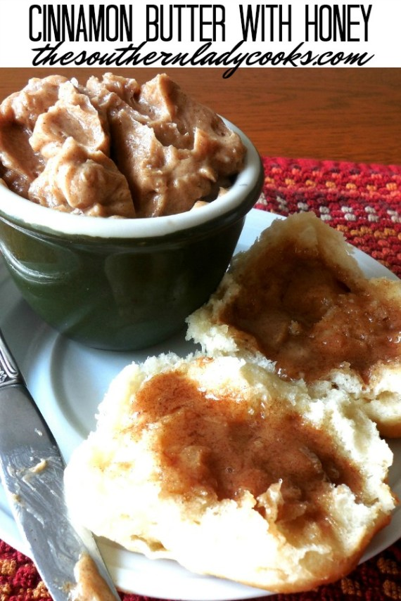 Cinnamon Butter with Honey