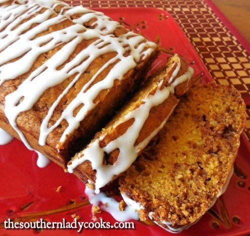 Easy Pumpkin Swirl Bread