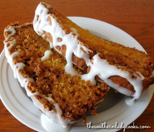Delicious Pumpkin Swirl Bread The Southern Lady Cooks