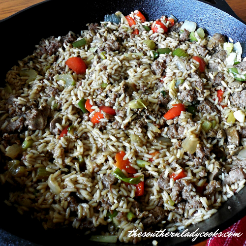 New Orleans Style Dirty Rice - The Southern Lady Cooks