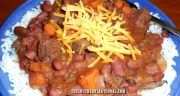 CROCK POT STEW MEAT AND KIDNEY BEANS