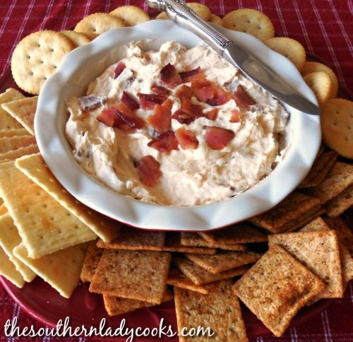 Bacon Cheese Spread-The Southern Lady Cooks