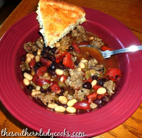 Mexican Bean Soup The Southern Lady Cooks