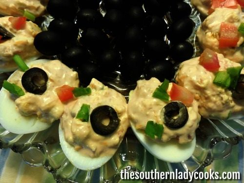 Mexican Deviled Eggs-The Southern Lady Cooks