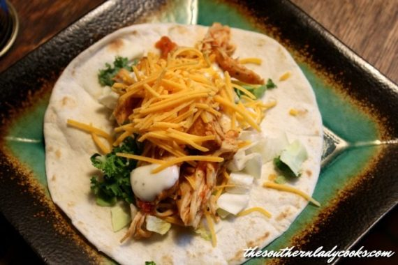 Crock Pot Salsa Ranch Chicken The Southern Lady Cooks
