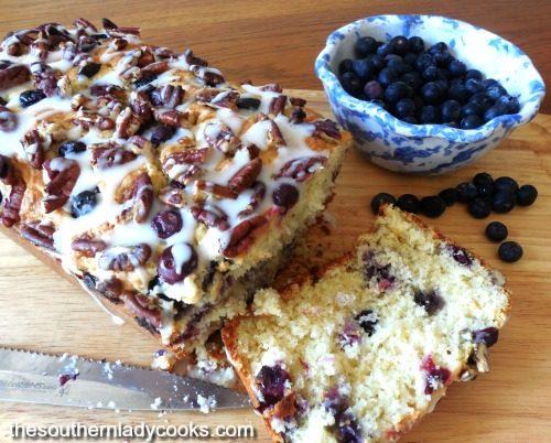 pineapple blueberry bread