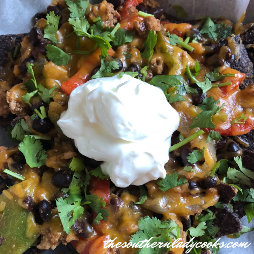 Easy Nachos The Southern Lady Cooks