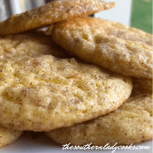 Snickerdoodle Cookies The Southern Lady Cooks 5 ingredients