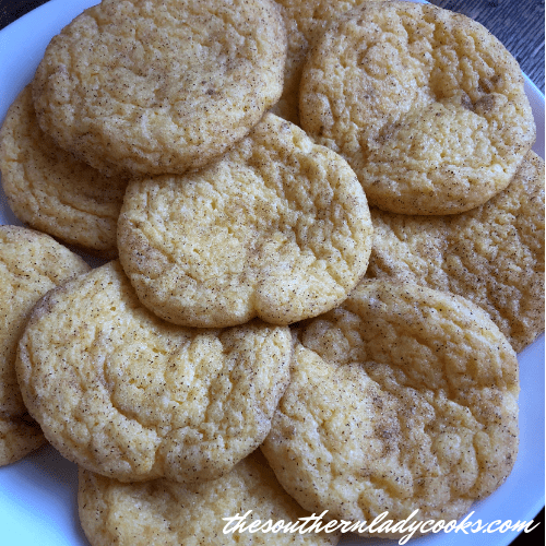 Snickerdoodle Cake Cookies The Southern Lady Cooks
