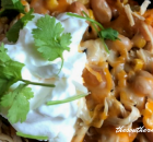 ROASTED PEPPER WHITE CHICKEN CHILI