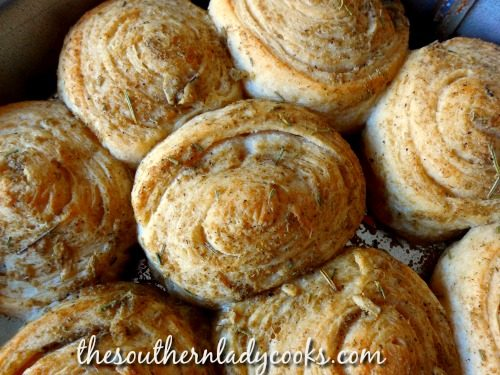 Garlic Herb Crescent Rolls - The Southern Lady Cooks