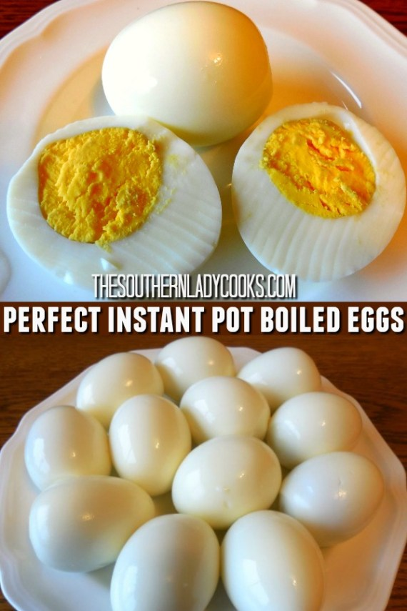 Instant Pot Boiled Eggs - The Southern Lady Cooks