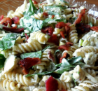 BACON ARTICHOKE PASTA SALAD
