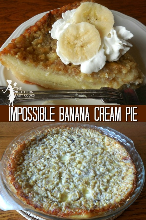 Impossible Banana Cream Pie