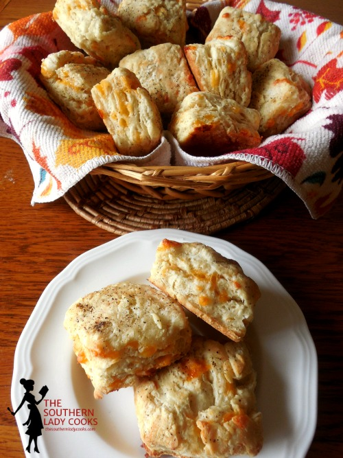 Black Pepper Cheddar Biscuits