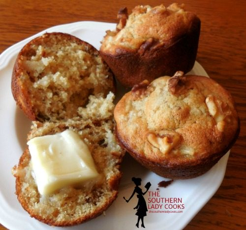 Honey Pear Muffins