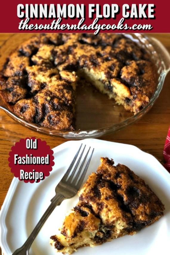 Cinnamon Flop Cake