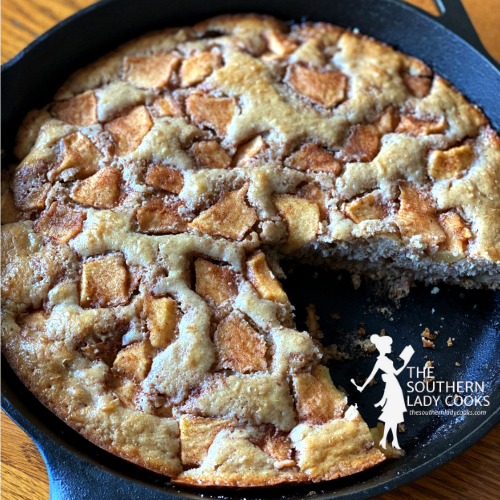 Iron Skillet Apple Cake