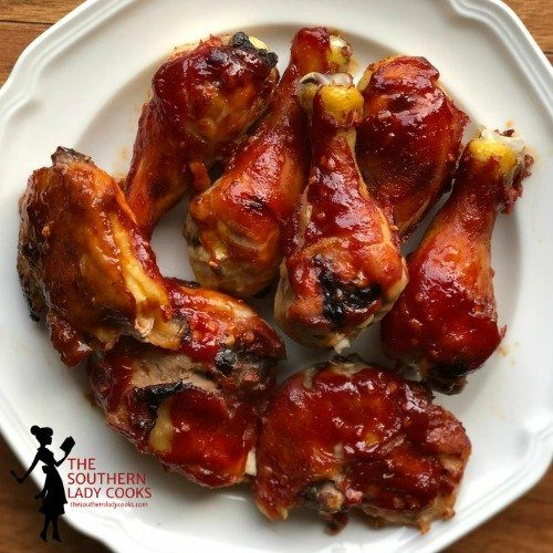 Oven Baked Barbecued Chicken