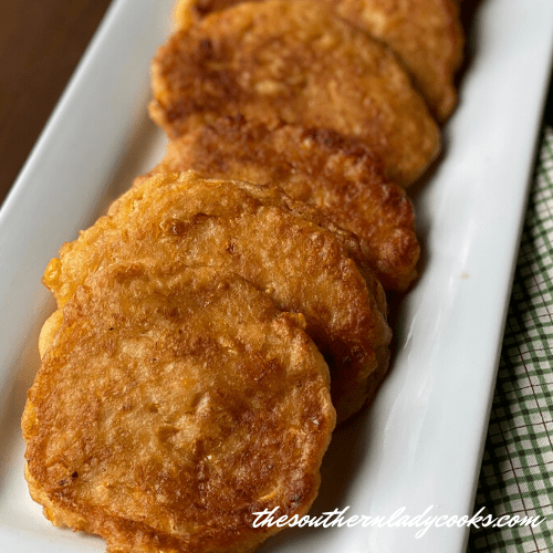 Corn Fritters - The Southern Lady Cooks