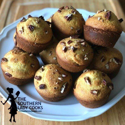 Southern Pecan Cornbread Muffins