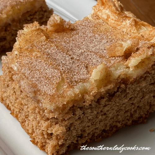 Spiced Ooey Gooey Cake - The Southern Lady Cooks