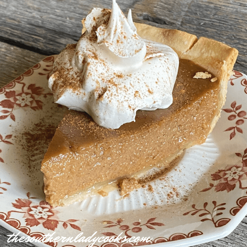 Apple Butter Pie The Southern Lady Cooks