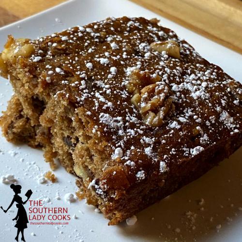 Apple Butter Snacking Cake
