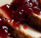 ROASTED PORK TENDERLOIN WITH CHERRY SAUCE
