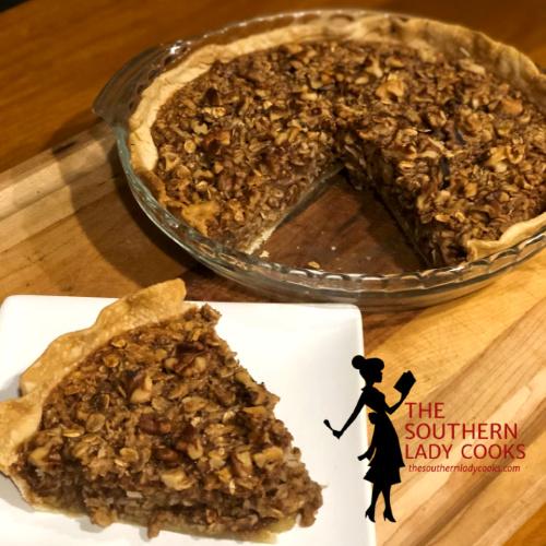 Apple Oatmeal Pie
