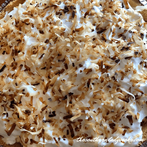 Easy Coconut Cream Pie - The Southern Lady Cooks