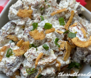 FRENCH ONION ROASTED POTATO SALAD