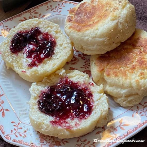 Homemade English Muffins The Southern Lady Cooks