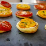 Hot tomato tarts