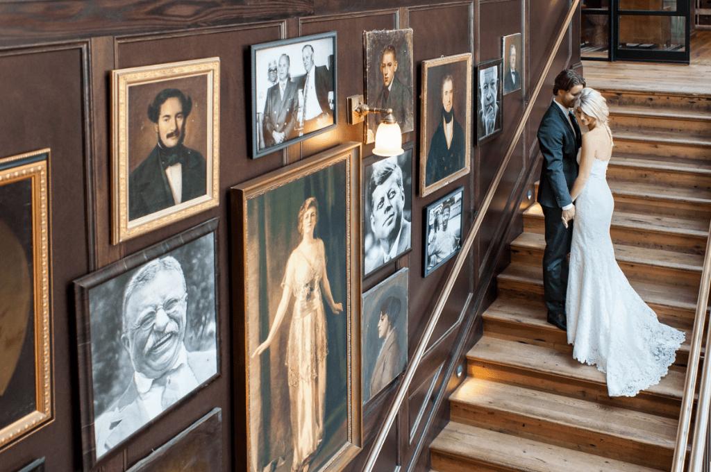 wedding photography Oxford Exchange