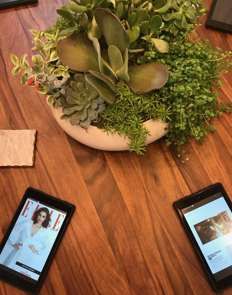 tablet magazine in salon