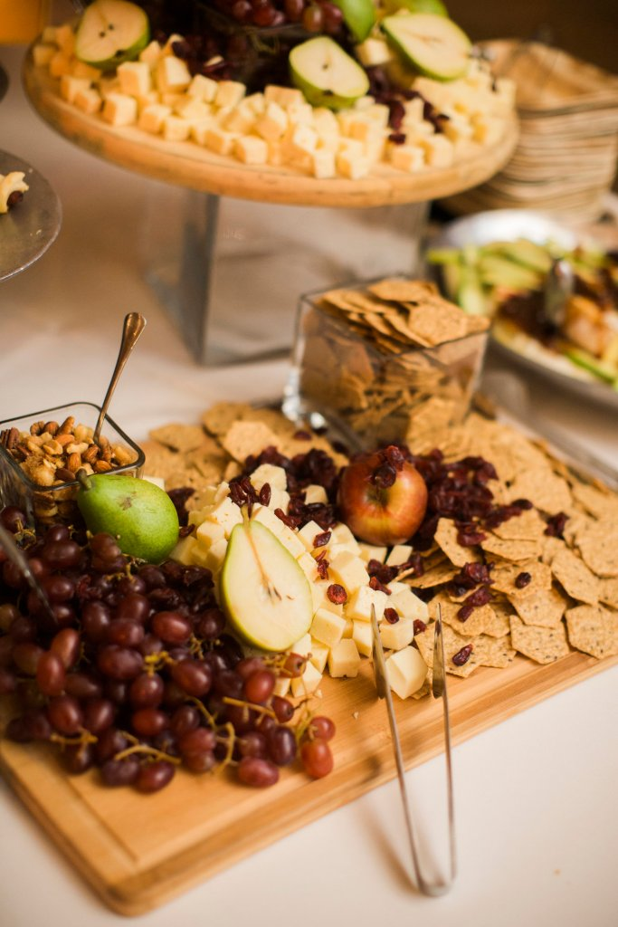 Gluten Free Friendly Appetizer Table at Wedding
