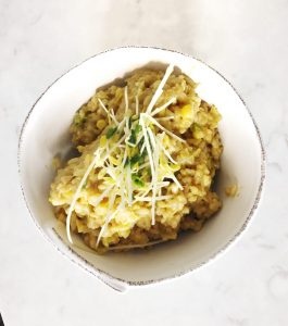creamy corn risotto from Plated