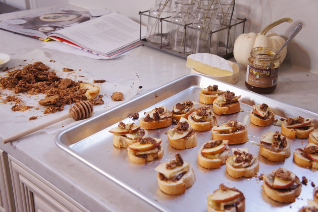 candied pecans fall appetizer
