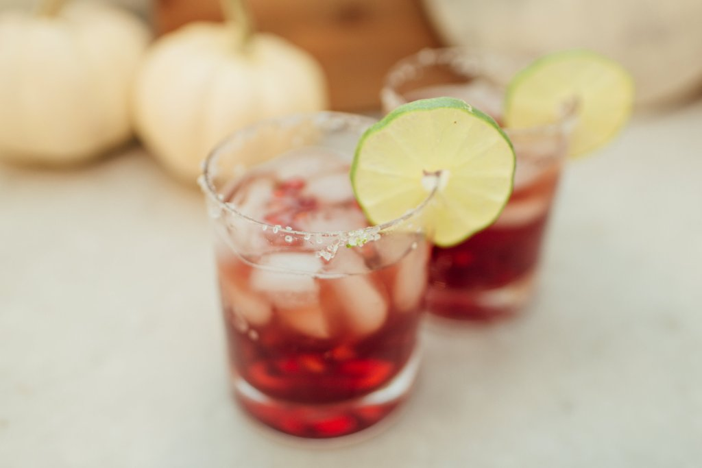 taco mama copycat pomegranate margarita holiday cocktail recipe