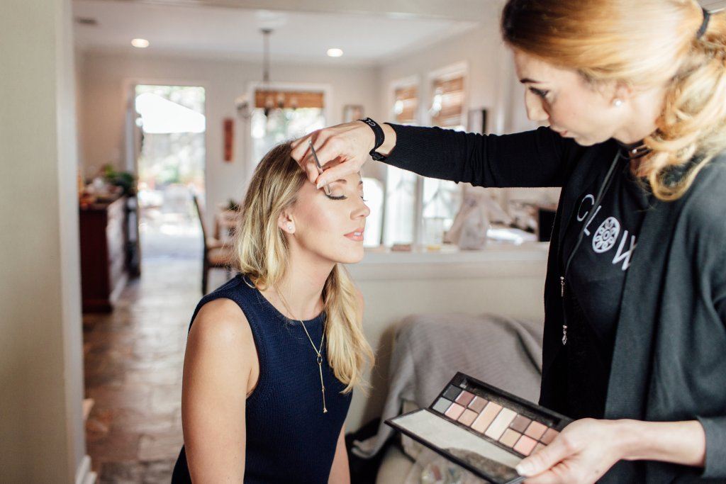 hair and make up services in Birmingham, AL for holiday party