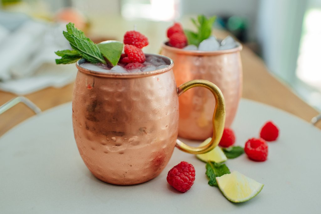 raspberry moscow mule rec