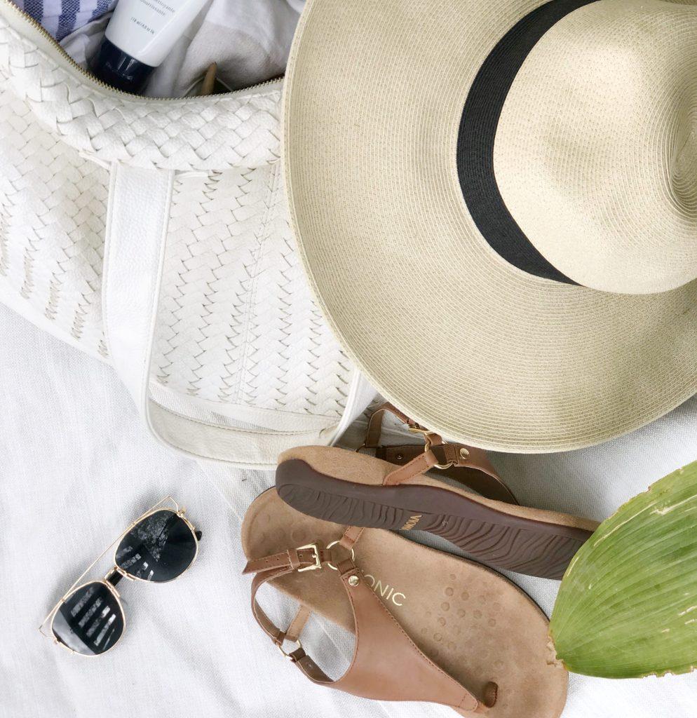 summer travel essentials best walking sandals